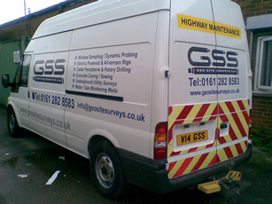 Geo Site Surveys Van
